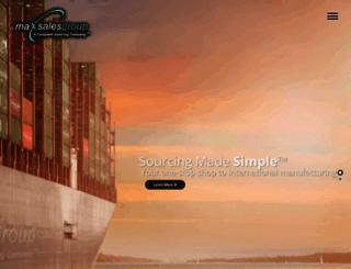 maxsalesgroup.com screenshot