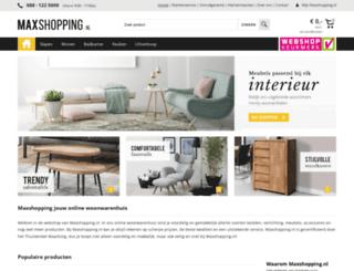 maxshopping.nl screenshot