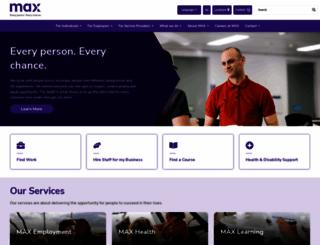 maxsolutions.com.au screenshot