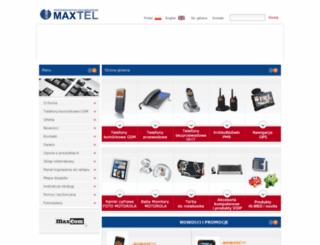 maxtel.pl screenshot