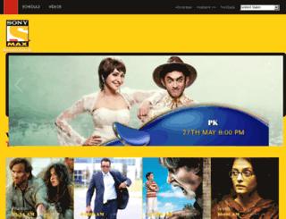 maxtelevision.com screenshot
