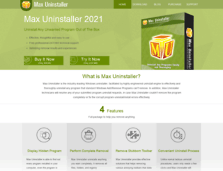 maxuninstaller.com screenshot