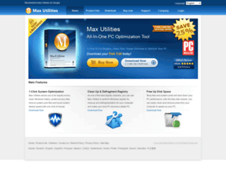 maxutilities.net screenshot