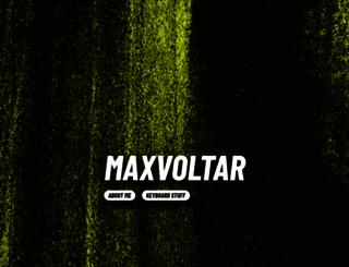 maxvoltar.com screenshot