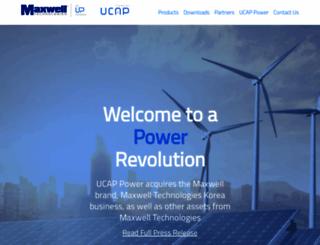 maxwell.com screenshot
