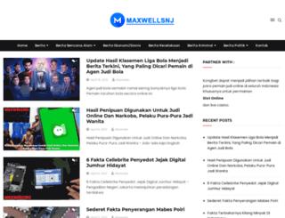 maxwellsnj.com screenshot