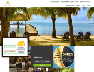 mayabeachhotel.com screenshot