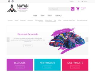 mayanboutique.com screenshot