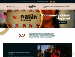 mayanfamilies.org screenshot