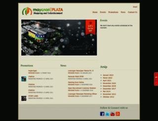 mayasariplaza.com screenshot