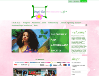 mayasideas.com screenshot