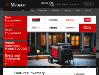 mayberrys.com screenshot