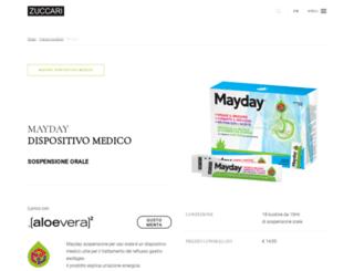 mayday.com screenshot