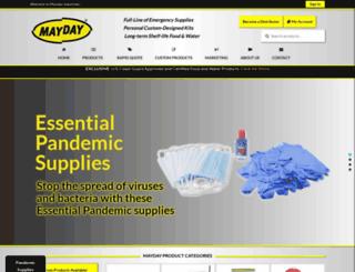 maydayindustries.com screenshot