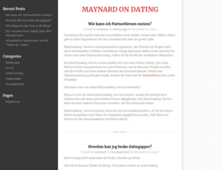 maynardije.org screenshot