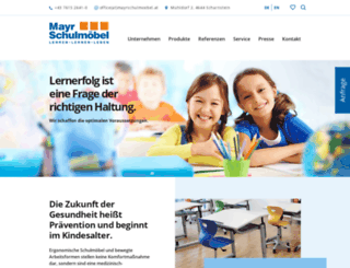 mayrschulmoebel.at screenshot