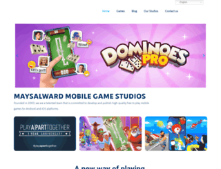 maysalward.com screenshot