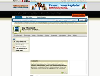 maytohumculuk.rehberalem.com screenshot