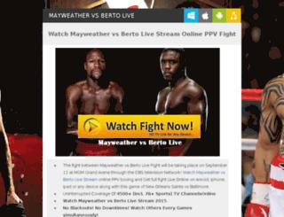 mayweather-vs-pacquiao-livestream.com screenshot