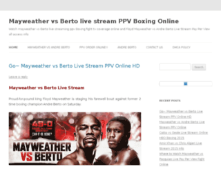 mayweathervspacquiaolive.co screenshot