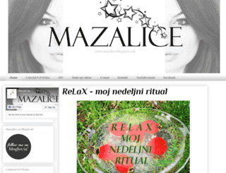 mazalice.blogspot.rs screenshot