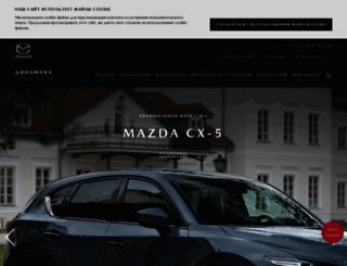 mazda-dynamica.ru screenshot