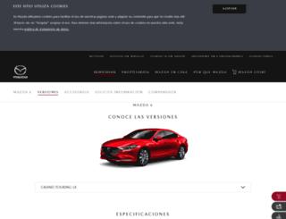 mazda2.com.co screenshot