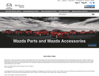 mazdaparts.org screenshot