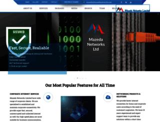 mazedabd.com screenshot