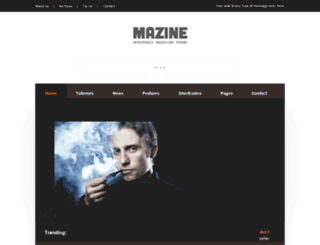 mazine.wptitans.it screenshot