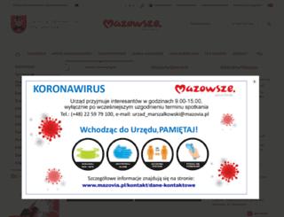 mazovia.pl screenshot