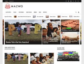 mazwo.com screenshot