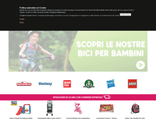 mazzeogiocattoli.it screenshot