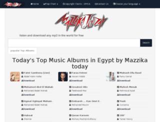 mazzika.today screenshot