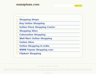 mazzplaza.com screenshot