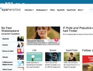 mb.sparknotes.com screenshot