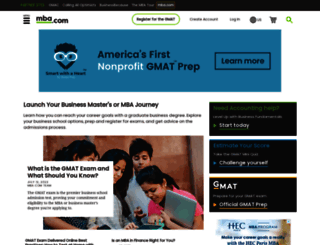 mba.com screenshot