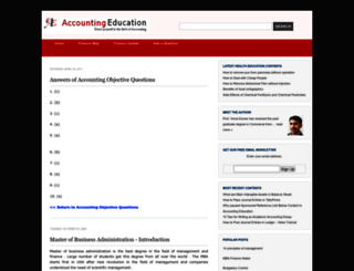 mbafinance.svtuition.org screenshot