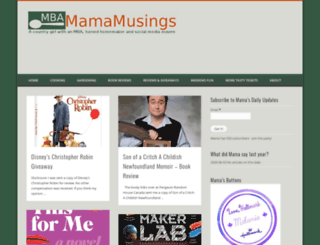 mbamamamusings.ca screenshot