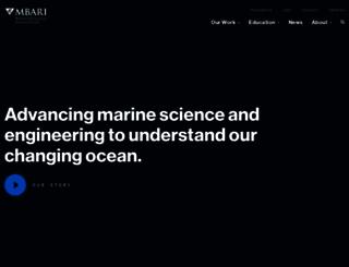 mbari.org screenshot