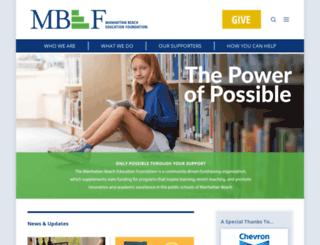 mbef.org screenshot