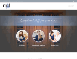 mbfagency.com screenshot