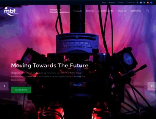 mbfbioscience.com screenshot