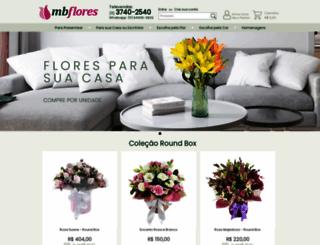 mbflores.com.br screenshot
