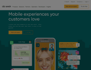 mblox.com screenshot