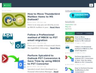 mboxtopstconverter.org screenshot