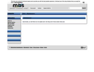 mbs-mobile.com screenshot