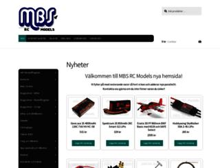 mbs-rcmodels.se screenshot