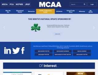 mcaa.org screenshot