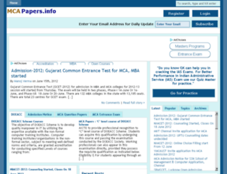 mcapapers.info screenshot